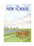 The New Yorker Cover - November 16  1987
