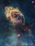 Young Stars Flare in the Carina Nebula