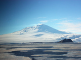 Eruption of Steam  Ash and Smoke from Mount Erebus