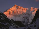 Dawn on Kangchenjunga  Talung Face  8595m  Sikkim Himalaya  India