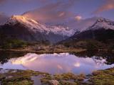 Key Summit and Reflection  Routeburn Track  World Heritage Site  Fiordland Nat'l Park  New Zealand