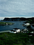 A Small Village on the Avalon Peninsula in Newfoundland  Canada