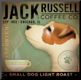 Jack Russel Coffee Co. Reproduction montée par Stephen Fowler