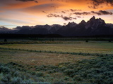 Grand Teton National Park at Sunset