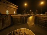The Panama Canal at Night