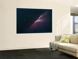 Rays of Light from a Newborn Nebula