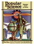 Front Cover of Popular Science Magazine: September 1  1928
