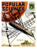 Front cover of Popular Science Magazine: July 1  1930
