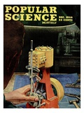 Front cover of Popular Science Magazine: December 1  1946