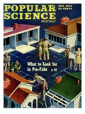 Front cover of Popular Science Magazine: August 1  1946