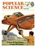 Front cover of Popular Science Magazine: October 1  1949