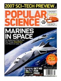 Front cover of Popular Science Magazine: January 1  2007