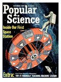 Front cover of Popular Science Magazine: December 1  1962