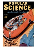 Front cover of Popular Science Magazine: June 1  1940