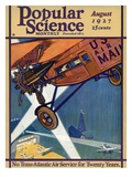 Front Cover of Popular Science Magazine: August 1  1927