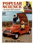 Front Cover of Popular Science Magazine: November 1  1950