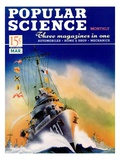 Front cover of Popular Science Magazine: March 1  1940
