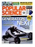 Front cover of Popular Science Magazine: September 1  2008