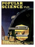 Front cover of Popular Science Magazine: February 1  1946