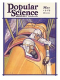 Front Cover of Popular Science Magazine: May 1  1929