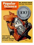 Front Cover of Popular Science Magazine: May 1  1972