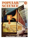 Front cover of Popular Science Magazine: March 1  1949