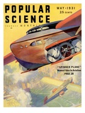 Front Cover of Popular Science Magazine: May 1  1931