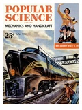 Front cover of Popular Science Magazine: July 1  1951