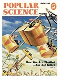 Front cover of Popular Science Magazine: July 1  1949