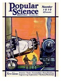 Front cover of Popular Science Magazine: November 1  1929