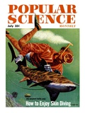Front Cover of Popular Science Magazine: July 1  1950