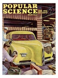 Front cover of Popular Science Magazine: November 1  1946