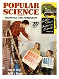 Front cover of Popular Science Magazine: April 1  1950