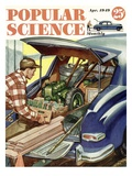 Front cover of Popular Science Magazine: April 1  1949