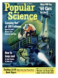 Front cover of Popular Science Magazine: July 1  1963