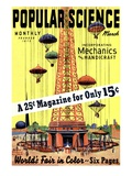 Front Cover of Popular Science Magazine: March 1  1930