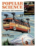 Front Cover of Popular Science Magazine: August 1  1951