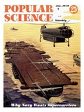 Front cover of Popular Science Magazine: January 1  1949