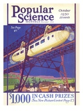 Front cover of Popular Science Magazine: October 1  1930