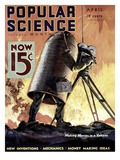 Front cover of Popular Science Magazine: April 1  1900