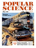 Front cover of Popular Science Magazine: May 1  1950