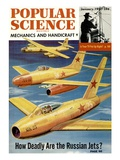 Front Cover of Popular Science Magazine: January 1  1951