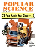 Front cover of Popular Science Magazine: March 1  1950