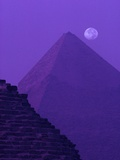 Moon and Pyramid of Khafre