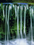 Small cascades in the Yosemite National Park  California