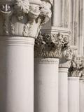 Column Sculptures of Doge's Palace Papier Photo par Tom Grill