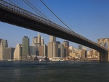 Lower Manhattan and the Brooklyn Bridge