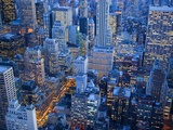 Midtown Manhattan at Dusk
