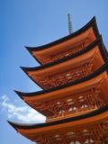 Pagoda at Itsukushima Jinja Shrine