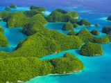 Rock Formations and Islets of the Rock Islands